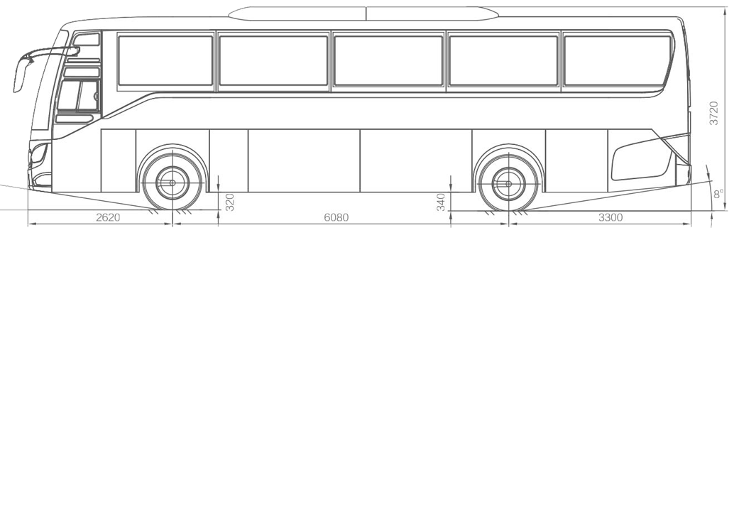 coach bus diagram